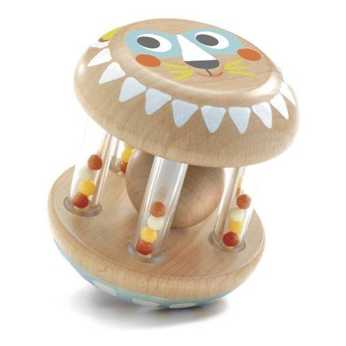 Oroszlános bébi csörgő - BabyShaki - Djeco