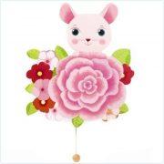 Gyerekszoba dekoráció Zenélő falidoboz Mouse - Djeco