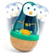 Kelj fel pingvin - Billenő babacsörgő - Djeco