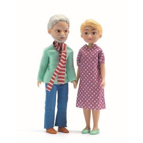 Nagyszülők - Babaházhoz - The grand parents - Djeco