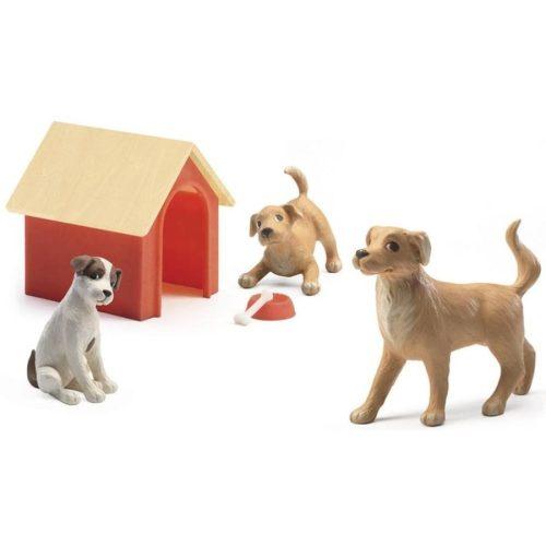 Kutyák - Babaházhoz - Djeco