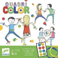 Quadri Color - Vicces, ügyességi, mozgásos játék - Djeco