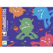 Triomonsters - kártyajáték - Djeco