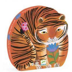 Tigris dobozos puzzle 24 db - os - The tiger's walk - Djeco