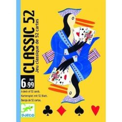 Klasszikus francia kártya - Kártyajáték - Classic 52  - Djeco
