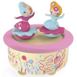Lányok zenedoboz - Flower Melody - forgó zenélő lányos - Djeco