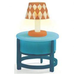 Asztali lámpa - babaház kiegészítő - Light on the table - Djeco