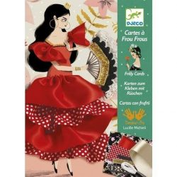 Flamenco kreatív varrás technika - Djeco