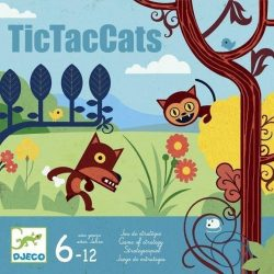 TictacCats - Startégiai társasjáték - Djeco