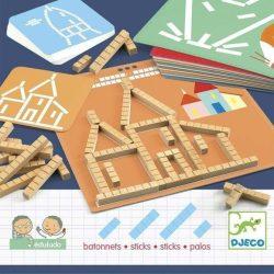 Hosszúság mértékegység - Eduludo sticks - Fejlesztőjáték - Djeco