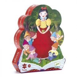 Hófehérke dobozos puzzle 50 db - os - Snow White - Djeco