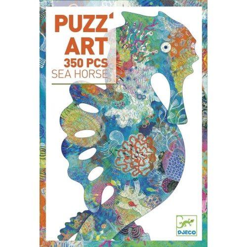 Tengericsikó díszes művész puzzle 350 db - os - See Horse - Djeco