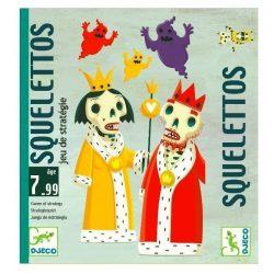 Squelettos - taktikai kártyajáték - Djeco