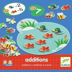 Képek, számok, kiegészítések - Eduludo - Additions  - Djeco