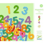 Mágneses számok - 38 numbers - Djeco