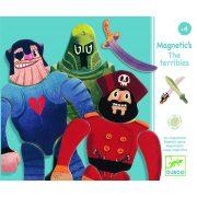 Macho mágneses képalkotó - Utazó játék - Los machos  - Djeco