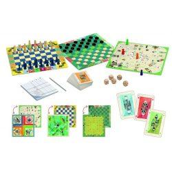 20 Klasszikus társasjáték 6 éves kortól - Classic box - 20 games - Djeco