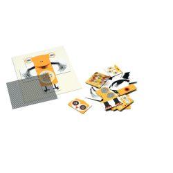 Szörnyecskés mozgó optikai puzzle 26 db-os - Animonster - 26 pcs - Djeco