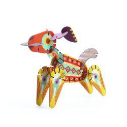 Állatos kreatív építőjáték 65 db-os - Volubo - Animals - Djeco