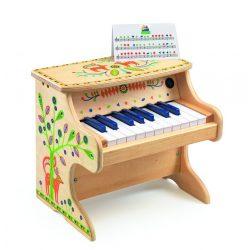 Elektomos zongora 18 billentyűvel - Electronic Piano 18 keys - Djeco