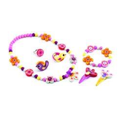 Erdei virágok ékszer készlet - Jewels - Wood flower - Djeco
