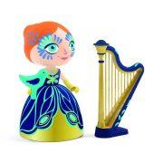 Elisa hercegnő hárfával - Elisa & Ze Harpe - Djeco