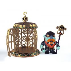 Hercegnő cella őrrel - Gnomus & Ze cage - Djeco