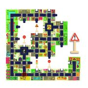 A város 24 db-os óriás puzzle - The city - Djeco