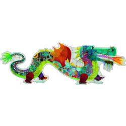 A sárkány 36 db-os óriás puzzle - Leon the dragon - Djeco