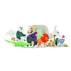 Állatkert 36 db-os óriás puzzle - Animal parade - Djeco