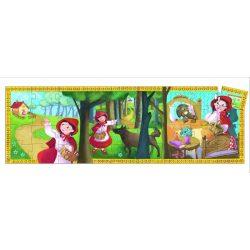 Piroska és a farkas, 36 db-os formadobozos puzzle - Cinderella - 36 pcs - Djeco