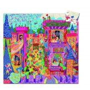 Tündér kastély, 54 db-os formadobozos puzzle - The fairy castle - 54 pcs - Djeco