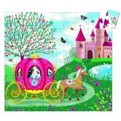Elise utazása, 54 db-os formadobozos puzzle - Elise's Carriage - 54 pcs - Djeco