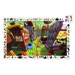 A jövő városa, 200 db-os megfigyelő puzzle - City of the futur - 200pcs - Djeco