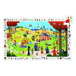 Mesék találkozása, 54 db-os megfigyelő puzzle - Tales - 54 pcs - Djeco