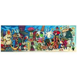 Fantázia zenekar, 500 db-os művész puzzle - Puzzle Galery - Fantasy Orchestra - Djeco