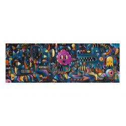 Szörny fal, 500 db-os művész puzzle - Monster Wall - 500 pcs - Djeco