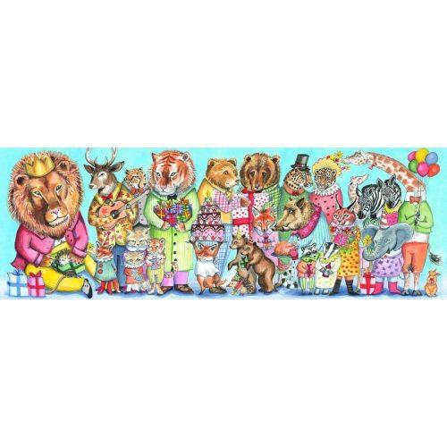 A király partija, 100 db-os puzzle - Puzzle Galery - King party - 100 pcs  - Djeco
