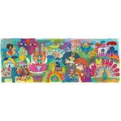 India, 1000 db-os művész puzzle - Magic India - 1000 pcs - Djeco