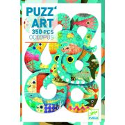 Polip, 350 db-os művész puzzle - Octopus  - 350pcs - Djeco