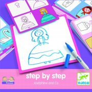 Népszerű rajzok lépésről lépésre - Step by step - Joséphine and Co - Djeco