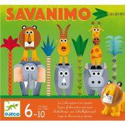 Savanimo - megfigyelés, gyorsaság fejlesztő játék - Savanimo - Djeco