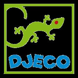 A hercegnő és az Őzike - Színező kétoldalú filctollal - Unicorn and fairy - Djeco