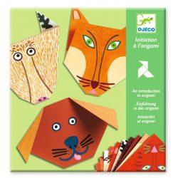 Erdei állatok - Origami - Animals - Djeco