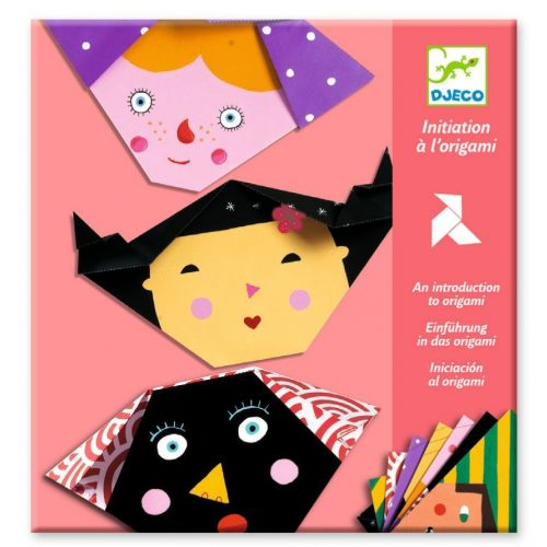 Arckifejezések - Origami - Faces - Djeco