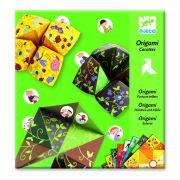 Jósló csiki-csuki állat mintás - Origami - Bird game - Djeco