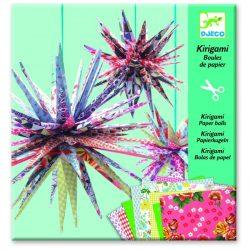 Kristályok - Kirigami - Paper balls - Djeco