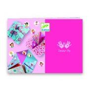 Jósló csiki-csuki lányos színek - Origami - Fortune tellers - Djeco