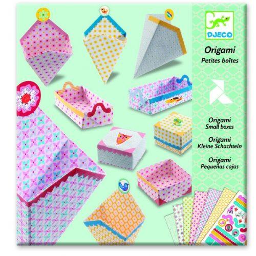 Doboz készítő - Origami - Small boxes - Djeco