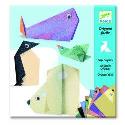 Sarkkör állatai - Origami - Polar animals - Djeco